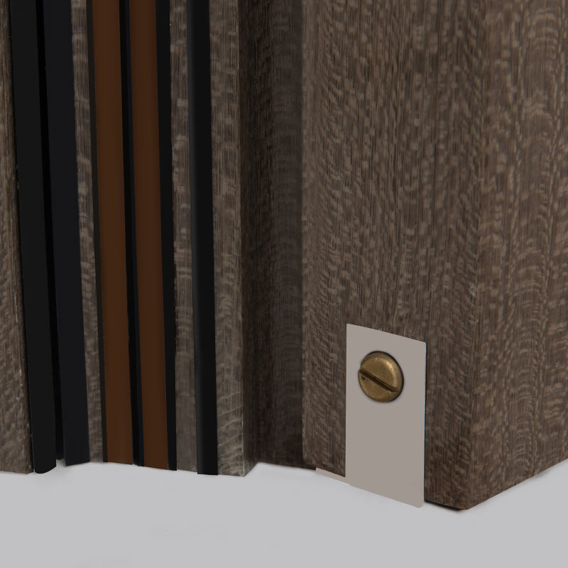 Fire and Acoustic Wooden Door<br>F50-D-04